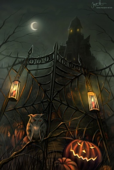 halloween_gate_by_jerry8448-d4ao5y2