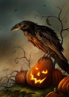 halloween_raven_by_jerry8448-d839pii