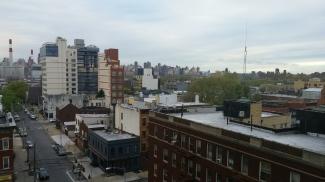Vue de la terrasse de jour