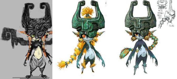 Les multiples designs de Midona de Twilight Princess