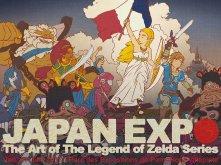 """Prix """"Aonuma"""" remporté par @CalamardoOimko - Illustration « Zelda mène les Prodiges à Japan Expo »"""