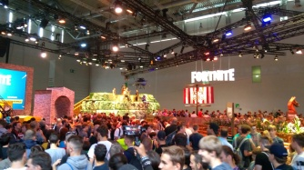 Fortnite à la Gamescom 2018